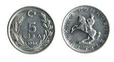 pci7146) Turkey 5 Lira 1983