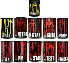 Universal Nutrition Animal Pak Cuts Flex M Stak Pump Vitamins Joint Support
