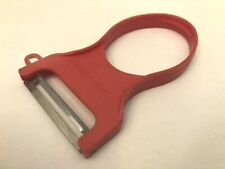 "Collectible Vintage MADE IN ITALY ""Sbucciatore"" Vertical Red Potato Peeler"