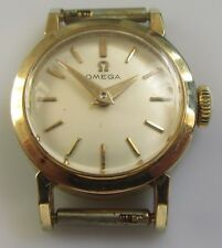 Vintage Omega Ladies 14ct Yellow Gold Manual (1956-57) Watch (No Strap).