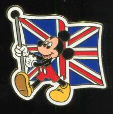 Mickey Mouse Carrying the United Kingdom Flag Disney Pin 51874
