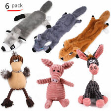 GWALSNTH 6Pack Dog Squeaky Chew Toys Durable Toys Set for Small Medium Large Dog