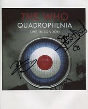 """The Who Pete & Simon Townshend Signed 8"""" x 10"""" Photo Genuine In Person"""