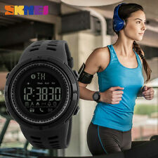 SKMEI Waterproof Men Digital Pedometer Photography Sport Reminder Wrist Watch
