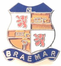 Braemar in the Cairngorms Scotland Small Quality enamel lapel pin badge T007