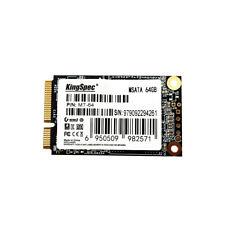 KingSpec MSATA MINI PCI-E 64G  Digital Flash SSD Solid State Drive O8W2