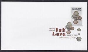 US 5508 Ruth Asawa Artwork E DCP FDC 2020