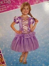 Disney Princess Costume Rapunzel New Size 3-4 T Purple