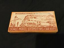 International's Scale Model Locomotive And Car Kits At&Sf Caboose Ho Scale