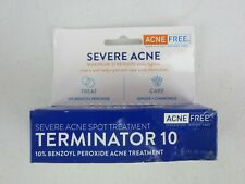 Acne Free Terminator 10 Maximum Strength Spot Treatment 1 Oz. 5/2021