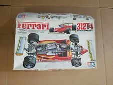 Ferrari 312T4 1979 Tamiya | No. 12025 / 1225 | 1:12 scale PARTIALLY BUILT