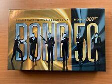 James Bond 50th Anniversary Blu Ray Set-Celebrating Five Decades Of 007 22 Films