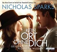 ALEXANDER WUSSOW - KEIN ORT OHNE DICH   6 CD NEW NICHOLAS SPARKS