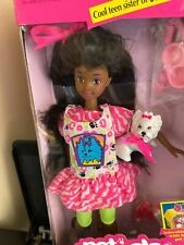 NEW NRFB 1991 Pet Pals Skipper Barbie African American with Dog