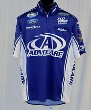 2014 Trevor Bayne Advocare Race Used NASCAR Pit Crew Shirt large