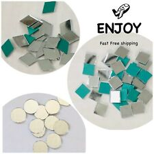 Mirror Glass Mosaic Tiles Bulk 100 Pieces Crafting Supplies Mirrors Embroidery