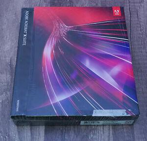 Adobe Acrobat X Suite Photoshop CS5 + GENUINE 65086396 Windows 7-10 BRAND NEW