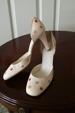 Women's Marc Jacobs Leather shoes beige color size UK 6.5 / EU 39.5 worn once