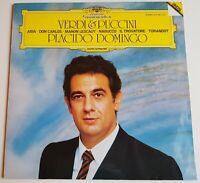 Placido Domingo Verdi & Puccini Aida Don Carlos Manon Lescaut DGG Stereo Digital
