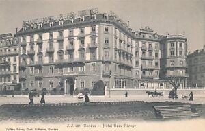 GENEVE – Hotel Beau-Rivage – Geneva – Switzerland
