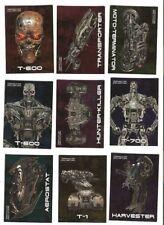 Terminator Salvation Embossed Foil Card Set #1-9