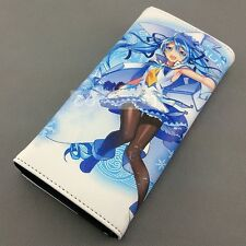 Vocaloid Snow Miku Character Color Printing Wallet Anime purse for Female