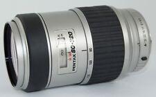 PENTAX-FA SMC 80-320MM AF K MOUNT FOR K1000,K-X,K-7 PK MOUNT FILM/ DSLR SCRATCH!