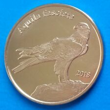 Shetland Islands 1 pound 2018 UNC Bonelli's Eagle Bird UK unusual coin