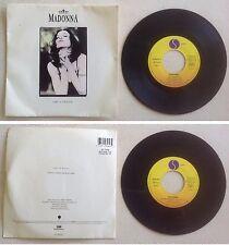 Madonna Disque 45T vinyl 2 titres Like a prayer vintage