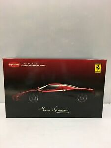 Kyosho Scale Size 1/12 Enzo Ferrari Red Used Opened With box From JAPAN