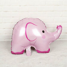 5pcs Pink Cute Baby Shower Elephant Foil Balloons Birthday Party Wedding Helium