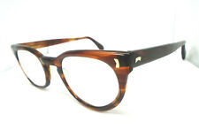 For Parts Liberty Usa Brown 48-24 6 Lib-Usa 1950s Horn Rim Vtg Eyeglass Frames