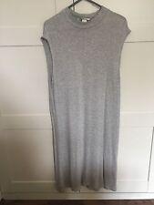 H&M Grey Drop Armhole Dress Basic Size Small 8 / 10