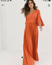 Orange ASOS Dress 8