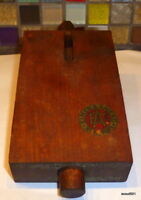 Antique 1919 Wood Eimer & Amend New York Sure Grip Shift Easy Tool