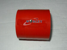 """2"""" Silicone Straight Hose Coupler 2 inch 51mm Silicon Pipe Joiner Red"""