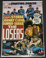 Vintage DC Bronze OUR FIGHTING FORCES 3pc Mid Grade Comic Lot 5.5-7.5 Kubert War