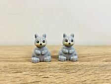 LEGO Duplo 2x Grey Squirrels Animals Zoo Farm