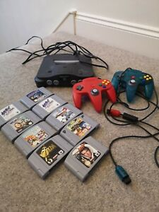 Nintendo 64 console bundle 8 games