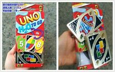 MATTEL UNO CARD GAME TRAVEL WATER PROOF UNO WITH HOOK P1703
