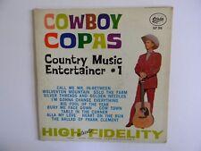 """COWBOY COPAS~"""" C.M. ENTERTAINER #1 """" - 33 1/3 LP - PHONOGRAPH~RECORD ALBUM -NICE"""