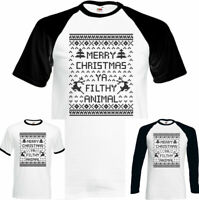 Merry Christmas Ya Filthy Animal Mens Funny Home Alone T-Shirt Secret Santa