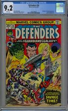 Defenders #26 CGC 9.2 NM- Wp Marvel Comics 1975 Early Guardians of the Galaxy