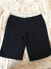Hurley Women's Shorts Black Bermuda Size 5