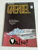 Grendel #16 January 1988 Comico Comics Matt Wagner
