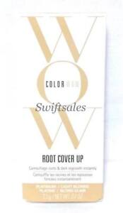 Color Wow Root Cover Up PLATINUM / LIGHT BLONDE - 2.1g / 0.07 oz New Retail Box