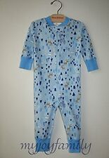 HANNA ANDERSSON Baby Organic Zip Sleeper Deer Mountain 80 18-24 months NWT