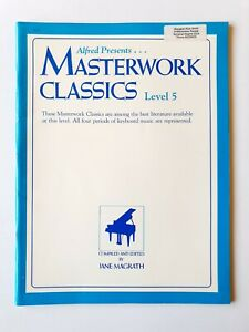 Alfred Presents Masterwork Classics - Level 5