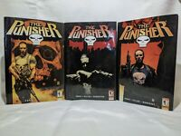 Marvel Knights Punisher Vols. 1, 2, 3 Hardcover Steve Dillon Ennis - Good Cond.