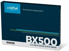 Crucial BX500 1TB SSD 3D NAND SATA III 2.5-inch Internal Solid State Drive